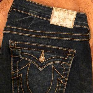 True Religion jeans. Joey fit size 32.